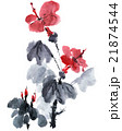 Watercolor blossom flowers 21874544