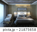 ベットルーム ベッドルーム 寝室のイラスト 21875658