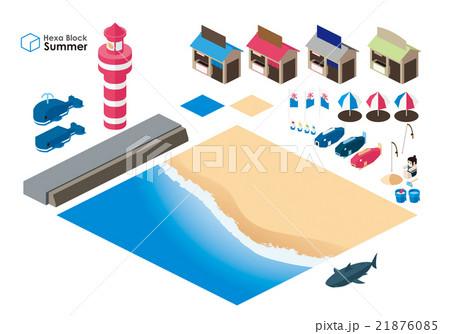 夏のイベントセット(海) 21876085