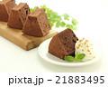 チョコレートシフォンケーキ 21883495