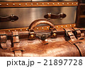 leather suitcase close-up 21897728