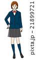 高校生 中学生 女子のイラスト 21899721