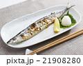 塩焼き 焼き魚 焼魚の写真 21908280