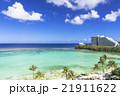 タモンビーチの海と雲 21911622