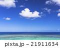 タモンビーチの海と雲 21911634