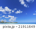 タモンビーチの海と雲 21911649