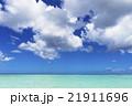 タモンビーチの海と雲 21911696
