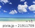 タモンビーチの海と雲 21911709