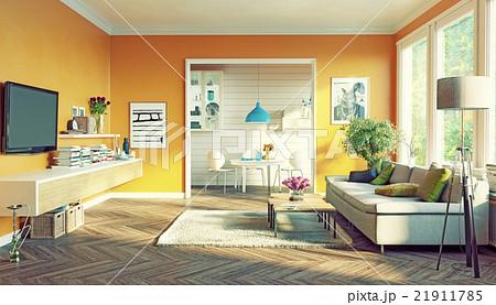 modern living room 21911785