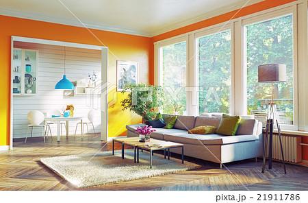 modern living room 21911786