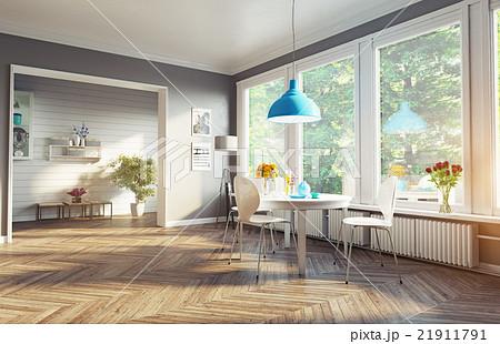 modern dining room 21911791