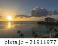 タモン湾に沈む夕陽 21911977