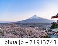 日本 風景 山梨県の写真 21913743