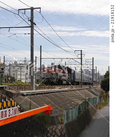 キハ261系 甲種輸送 DE10+ヨ8000 宮原操‐吹田貨物タ 21918152