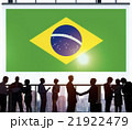 Brazil National Flag Business Communication Concept 21922479