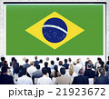Brazil National Flag Seminar Business People Concept 21923672