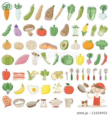 料理 野菜 アイコン 21928403