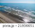 旭市の九十九里海岸付近を空撮 21936651