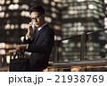 ビジネスマン 電話 人物の写真 21938769
