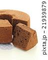 チョコレートシフォンケーキ 21939879