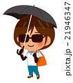 日焼け対策する女性 21946347