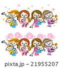 母親 母子 赤ちゃんのイラスト 21955207