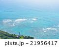 海 ハワイ ダイヤモンドヘッドの写真 21956417