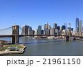 ブルックリンブリッジとマンハッタン 21961150