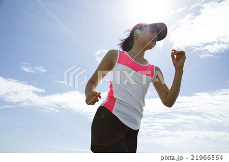 ジョギング 21966564