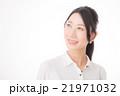 笑顔 女性 黒髪の写真 21971032