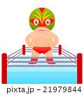 プロレスラー 格闘家 マスクマン 覆面レスラー リング 21979844
