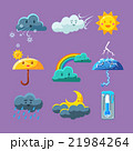 天気 気象 天候のイラスト 21984264