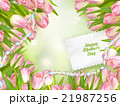 Bouquet of tulips. EPS 10 21987256