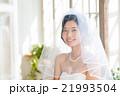 花嫁 ベール 結婚の写真 21993504