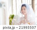 花嫁 ベール 結婚の写真 21993507