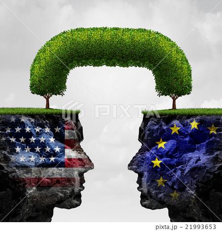 American European Partnershipのイラスト素材 [21993653] - PIXTA