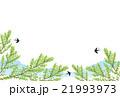 背景素材 初夏 新緑のイラスト 21993973