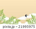 背景素材 初夏 新緑のイラスト 21993975