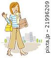 女性 会社員シリーズ 21996209