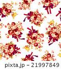薔薇 ブーケ 花柄のイラスト 21997849