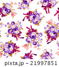 薔薇 ブーケ 花柄のイラスト 21997851