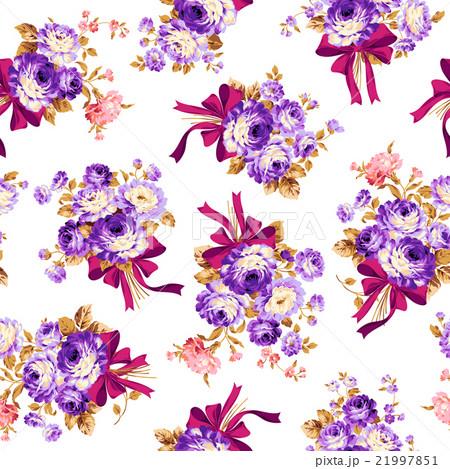 薔薇ブーケのパターン 21997851