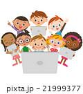タブレットと子供集合 21999377