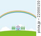 夏風景 虹 22000150