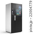 スマート冷蔵庫の扉にタッチスクリーン、プッシュ通知で残量確認及び購入。広告連動でクーポン表示可 22004779