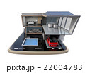スマートフォンの上にある省エネスマートホーム。スマホアプリによるホームエネルギー管理コンセプト 22004783
