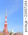東京タワー ランドマーク 青空の写真 22007164