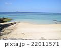 青い海 浜辺 22011571
