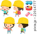 遠足 子供 歩くのイラスト 22014777