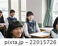 生徒 授業 女子の写真 22015726